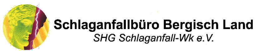 Schlaganfall Büro Bergisch Land Logo